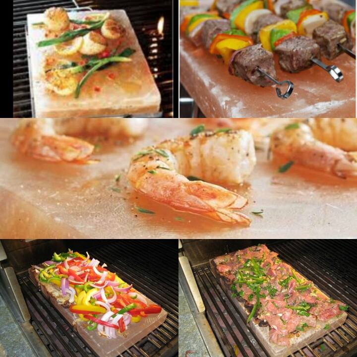 How To Cook Grill On A Himalayan Salt Block Tavoos Halo Spa